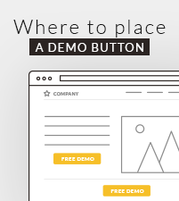 Where to place Instant Demo Buttons